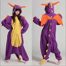 Hot Unisex Adult Pajamas Kigurumi Cosplay Costume Animal Onesi Sleepwear Stock L