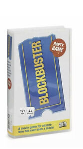 Blockbuster Movie Party Family Quiz Game - New & Sealed
