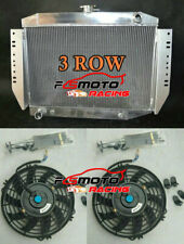 Aluminum Radiator + Fan For Jeep Cherokee Wagoneer J-Series J10 J20 J-100 72-79