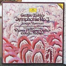 DGG digital   Mahler – Symphonie No 3  2 Lps  Abbado  Jessye Norman