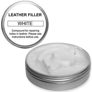 Leather Repair Filler Compound 10ml for cracks, burns, holes etc..