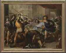 Signe Métallique Luca Giordano Persée tournant Phineas et ses disciples de Pierre A4 1