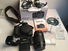 Canon Eos 60D 18.0Mp Digital Slr Camera w/ 18-135mm Is Lens +Uv filter Lens hood