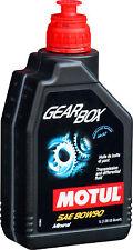 MOTUL Gearbox 80W-90 1 Liter Getriebeöl mit MoS2, Differentialöl API GL4 GL5 1L