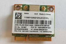 Genuine Broadcom BCM943224HMS mPCIe Laptop Wireless Wifi Card 60Y3251
