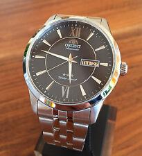 Orient Classic XL 42 mm FEM7P003B9 Stahl Herren Automatic Watch Automatik Uhr