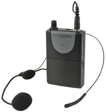 Trasmettitore Beltpack VHF con microfono Neckband, 175.0MHz - QTX