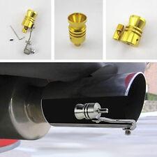 GOLDEN Turbo sound fischio per marmitta tubo di scarico Simulatore Whistler per BMW BENZ