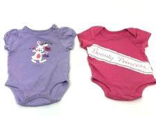 Baby Gitl 0-3 Month Jumpsuit Lot Of 2..
