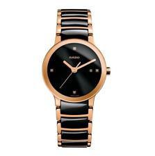 Rado Centrix Jubile Ceramic Rose Two-Tone Ladies 28mm Quartz Watch R30555712