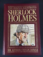 Vintage The Original Illustrated Sherlock Holmes Arthur Conan Doyle- Leather
