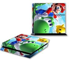 SUPER MARIO BROS GALAXY PS4 Skin Vinyl Decal PlayStation 4 Console Sticker 124