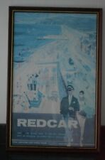 More details for railway british railways (br) travel poster redcar - wooden frame - hugh chevins