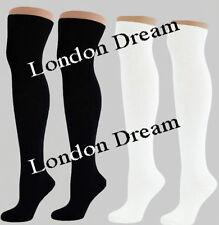 Knee-High Cotton Unbranded Socks for Women