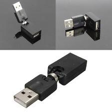 USB Winkeladapter A Stecker A Buchse Kupplung 360° drehbar Gelenk Mode.Neu^