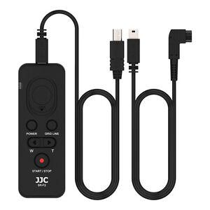JJC Remote Control for SONY A6600 A6100 A6500 A6400 A6300 A6000 A5100 as RM-VPR1