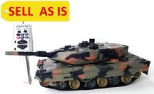 """Sell As Is Leopard 2A5 German Panzer Airsoft 16"""" Rc Bb Battle Tank 3809 Used"""