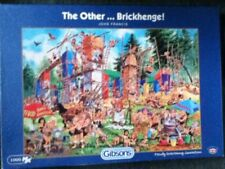 *Gibsons the Other. Brickhenge by John Francis, Jigsaw Puzzle 1000 Pieces *