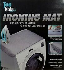 Table Top Ironing Mat Portable Magnetic Any Surface By Total Vision New In Box