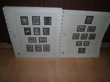 Safe Dual Österreich 1980-1992 komplett Vordruckblätter (208)