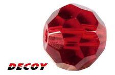 Perle de verre Decoy Kachi Beads B-1 taille S rouge par 9