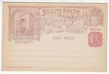 CARTE ENTIER POSTALE NEUF PORTUGAL COLONIE MADEIRA CONCEICAO VELNA 1498 / 1898