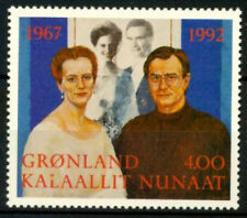 Greenland 1992 Royal Silver Wedding of Queen Margrethe & Prince Henrik UNM / MNH