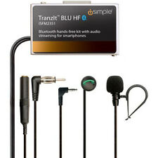 iSimple TranzIt BLU HF Music Streaming and Hands Free Bluetooth Car Kit