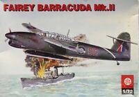 ZTS Plastyk 1:72 Fairey Barracuda Mk.II Plastic Aircraft Model Kit #S-122U