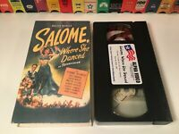 Salome, Where She Danced VHS 1945 Historical Drama Yvonne De Carlo Rod Cameron