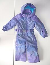 SPYDER Purple Warm Winter SKI SUIT Snow Board Pants Size Kid Youth TODDLER 2T