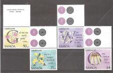 FLORES / FLOWERS - SAMOA 1992, MNH set