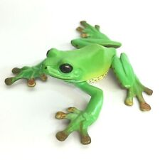 Weekly Japanese Natural Monument Figure #7 Forest Green Tree Frog Kaiyodo Japan