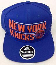 49d66ac5cf5 NBA New York Knicks Adidas Snap Back Cap Hat Beanie Style  VS80Z NEW!