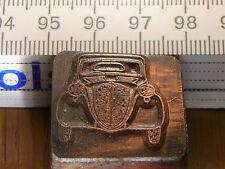 Fiat Topolino 500 a bello Oldtimer sello/sello de metal