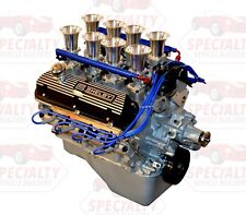 Small Block Ford 408, 475 HP Crate Engine w/ Hilborn Style Fuel Injection, EFI