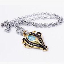 Game Fire Emblem Awakening Necklace Chain Aqua Azura Pendant Cosplay Otaku Gifts
