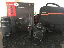 Canon EOS 500D/Rebel T1i 15.1MP Appareil Photo Reflex Numérique-Noir (Kit Avec EF DC...