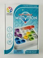 New Anti Virus: Mutation 1 Player Puzzle Game SMART Games Ages 7+ 60 Challenges