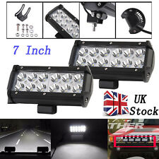 2520LM 36W LED Work Light Bar Flood Beam Offroad Driving Lamp UTB Marine 4WD 4X4