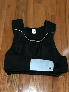 Gold's Gym 20 lb Adjustable Weighted Work Out Vest - EUC