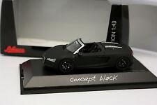 Schuco 1/43 - Audi R8 Spider Noire Mat Concept Black