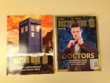 Lot 2 Dr Who BBC Magazine 50th Anniversary 50 Years the Doctors 2013 Dr.