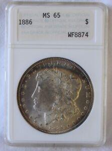 1886 Morgan Dollar MS 65 NGC certified