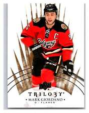 (HCW) 2014-15 Upper Deck Trilogy #78 Mark Giordano Flames NHL Mint