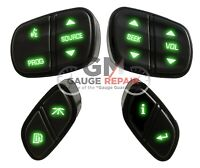 10 ct Red LED/'s for GM switches 2003-06 heated seats overhead console r climate
