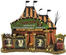 Dept 56 Halloween Village - Travis Louie'S World Of Otherworldly Persons - Note