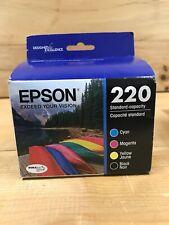 Epson DURABrite Ultra 220 Ink Cartridges - Black/Cyan/Magenta/Yellow,