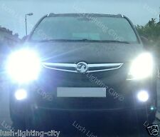 VAUXHALL ZAFIRA TOURER LED FOG LIGHTS H10 XENON WHITE CANBUS ERROR FREE