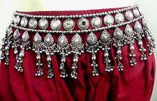 Ethnic ATS India Banjara Vintage Kuchi Tribal Belt Belly Dance Hip Skirt Gypsy